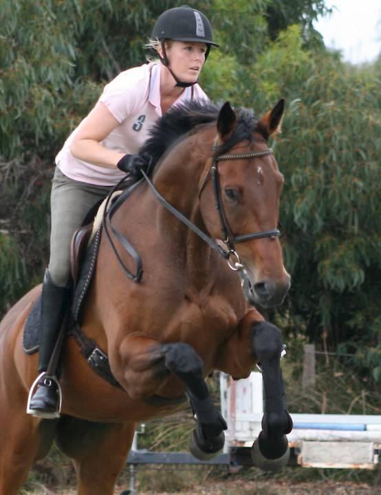 Jahna Terug Op Paard
